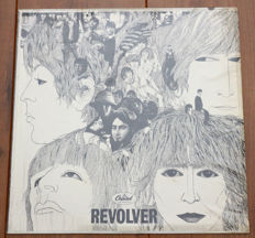 The Beatles- Revolver lp/ very rare 1st US mono pressing on Capitol, in stunning condition, sleeve still in shrink & w. original bright orange inner sleeve/ EXCELLENT