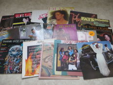FUNK / SOUL - Various Artists - lot of 17 LP's from the seventies, eighties