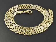 Solid 18 kt gold necklace. Length: 46 cm. ***No reserve price***