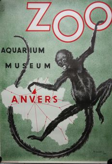 Robert Landois - Zoo Anvers - 1954