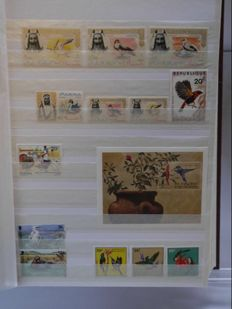 Birds – Theme collection in stock book