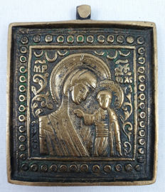 Mother Goose of Kazan (Kazanskaia) - Bronze travel icon