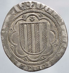 Messina – Pierreale – Frederick III (1296-1337) Silver.