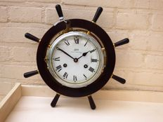 Beautiful Royal Mariner ship's clock - 2nd half of the 20th century - perfectly working