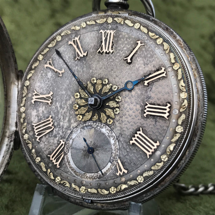 Fusee men´s pocket watch - around 1890