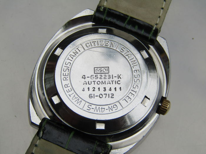 Citizen Automatic men's wristwatch 1970s - Catawiki