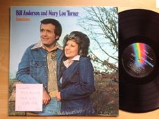 Country music with Bill Anderson / Mary Lou Turner / Jan Howard / The Kendalls  total 12 LP's.