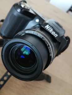 NIKON COOLPIX L110 12MP 15 X ZOOM VR.