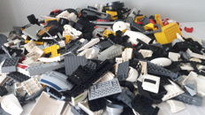 Assorted Lego parts 2.5 kg