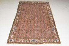 Magnificent Bidjar/Iran - second half 20th century, 180 x 112 cm, with certificate of authenticity.