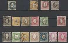 Portugal, 1853-1893 - collection of stamps