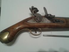 British Flintlock pistol Tower GR