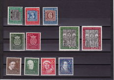 Federal Republic of Germany 1949/1951 - four series