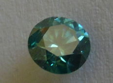 0.88 ct Vivid Green VS2 Diamant - IGL-certificaat