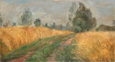 Otakar Lebeda (attributed, 1877-1901) - Landscape