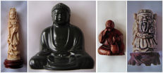 Statuettes - Asia - 2nd half of 20th century