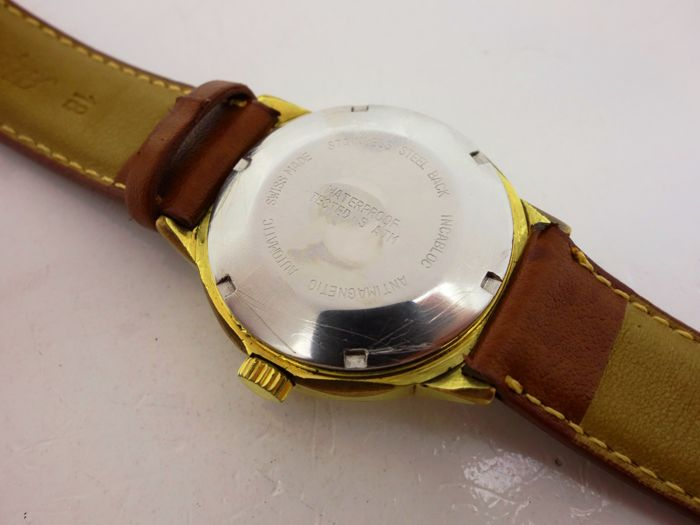 Vintage Men's Fleurier Watch Co. Watch Incabloc Running ...