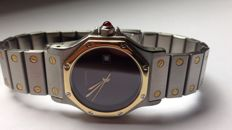 Cartier Santos Octagon ref. 2966 -- men's watch - 1991