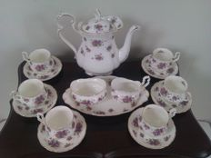 Royal Albert - 17piece coffee set - Violetta