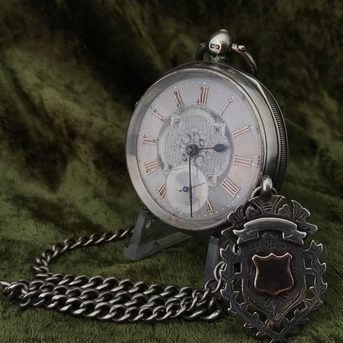 English men´s lever pocket watch - around 1890