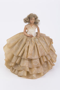 1) French doll 1950 - 2)French doll 1920