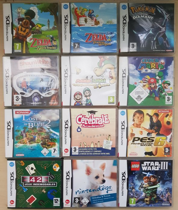 Nintendo Ds Pokemon Games : Lot of nintendo ds games like mario pokemon