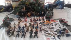 44 GI Joes and vehicle Ultimate Rolling Thunder