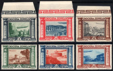 Kingdom of Italy, 1908–1942 — Collection of 20 complete series