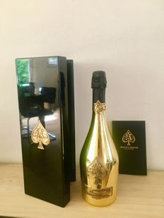 Armand de Brignac Ace of Spades Gold Brut, Champagne - 1 bottle (75cl) in box