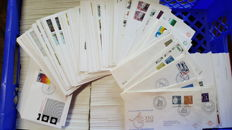 The Netherlands – batch of 1630 FDCs