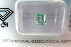 Colombian Green Emerald of 0.84 ct
