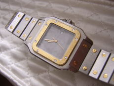 Cartier Santos Galbeé -- Men Watch -- Ca. '90s