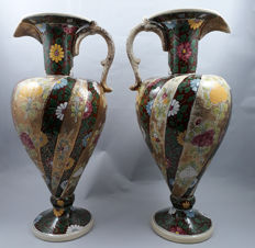Fischer J, Budapest - Couple of earthenware pitchers