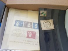 Federal Republic of Germany, Berlin and occupied territories - batch in bags and on cards.