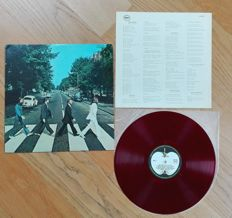 "The Beatles- ""Abbey Road"". Rare! 1st 1969 japanese issue on RED wax!"
