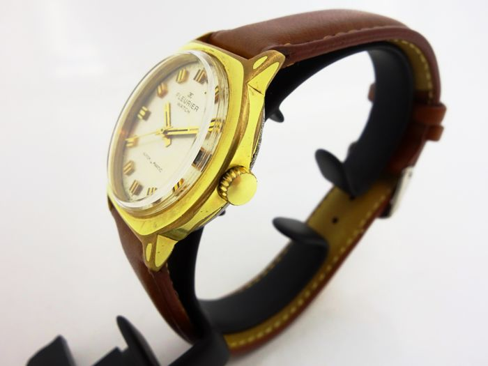 Fleurier Watch Vintage Men's WristWatch 1960's - Catawiki