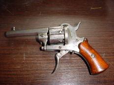 Pin fire revolver 7mm