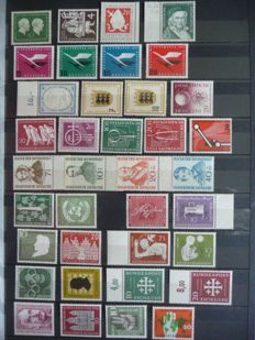 Federal Republic of Germany 1954/2000 – Collection in a stock book