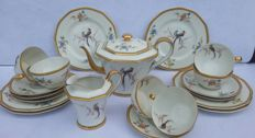 Theodore Haviland dessert serveware, white porcelain, 20 signed pieces (20x)
