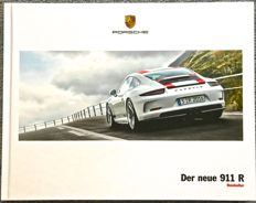 Porsche 911 R brochure 2017 Original by PORSCHE