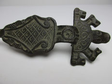 Large Zoomorphic Nordic Viking brooch 600-700 AD