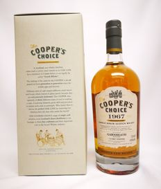 Garnheath – 1967 – 48 years old  - Closed 1986 - Cooper's Choice – Single Grain – Single Cask Distilled : 06/1967 – Bottled : 06/2016 – cask n° :  9157  –41,50 % abv.