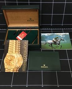 Rolex original box and VIP clip - original manual two - no reserve price