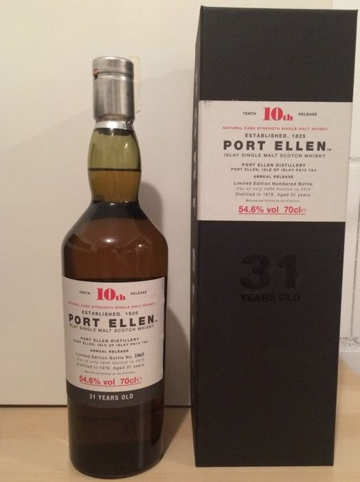 Port Ellen 1978 - 31 years old - 10th Release