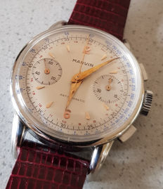 MARVIN Chronograph – Weekday, month and date – circa 1960