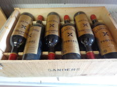 1975 Chateau Le Commandeur Pomerol - wooden box 12 bottles (75cl)