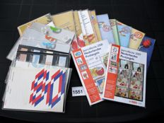 The Netherlands 1980/2009 - selection of 23 original PTT year packs/ collections
