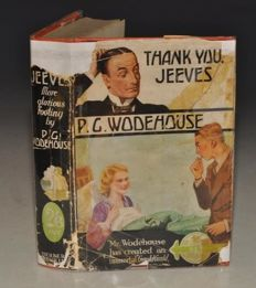 P.G. Wodehouse - Thank you, Jeeves - 1934