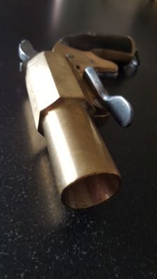 Flare pistol Gun launches rocket GG & Cie engraved 1917. LE VERITE