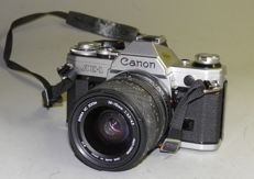 Canon AE 1 with Sigma 28-70 -1978/1985 +Sigma 70-210 mm